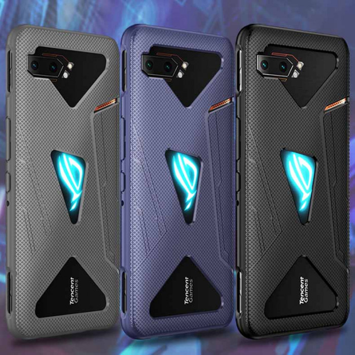 Full Protection Soft TPU Back Cover Case For ASUS ROG Phone 2