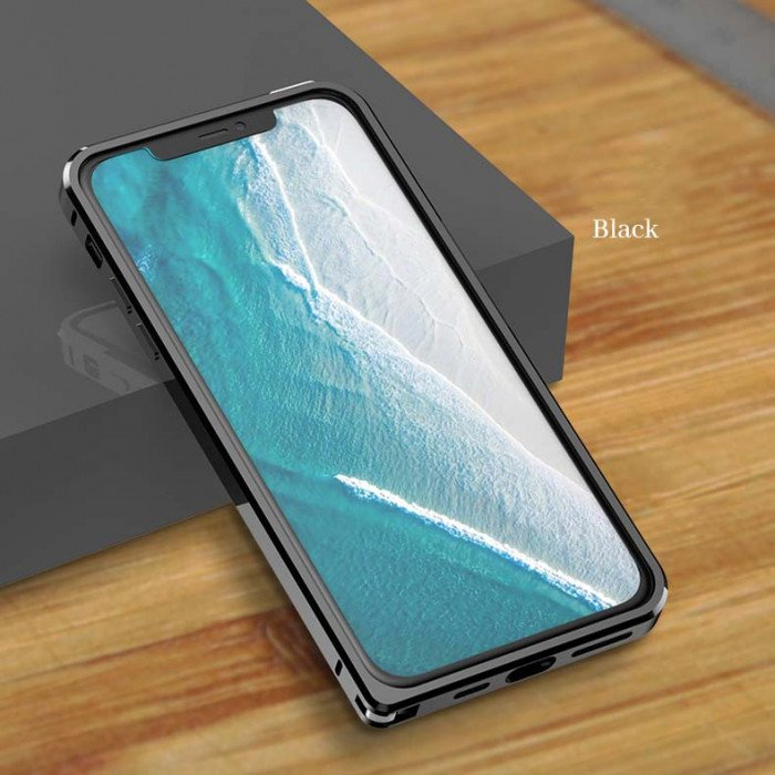 Love Mei Ultra Thin Metal Frame Case For iPhone 11 Pro Max/iPhone 11 Pro/iPhone 11