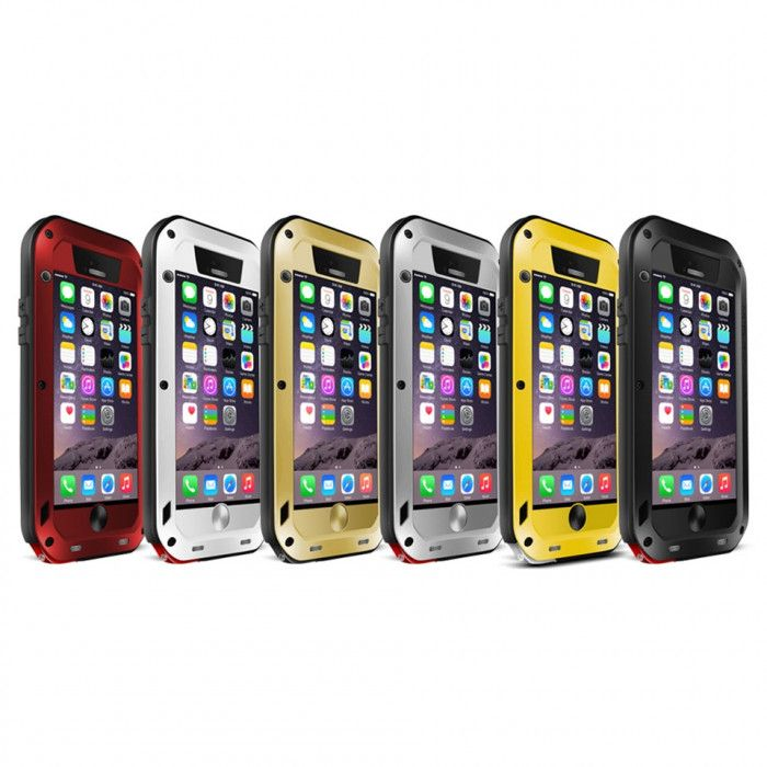 Love Mei Dirt Proof & Shock Proof Powerful Protective Case For iPhone 6