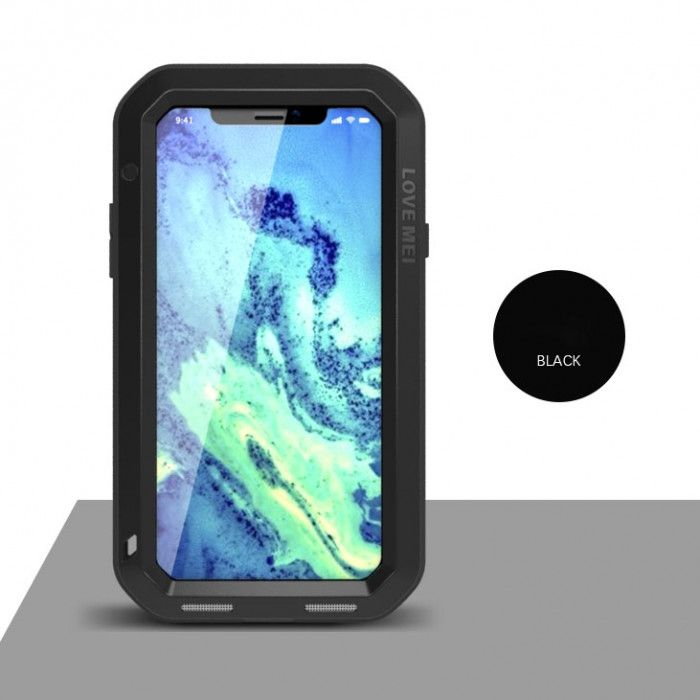 Love Mei Dirt Proof & Shock Proof Powerful Protective Case For iPhone X