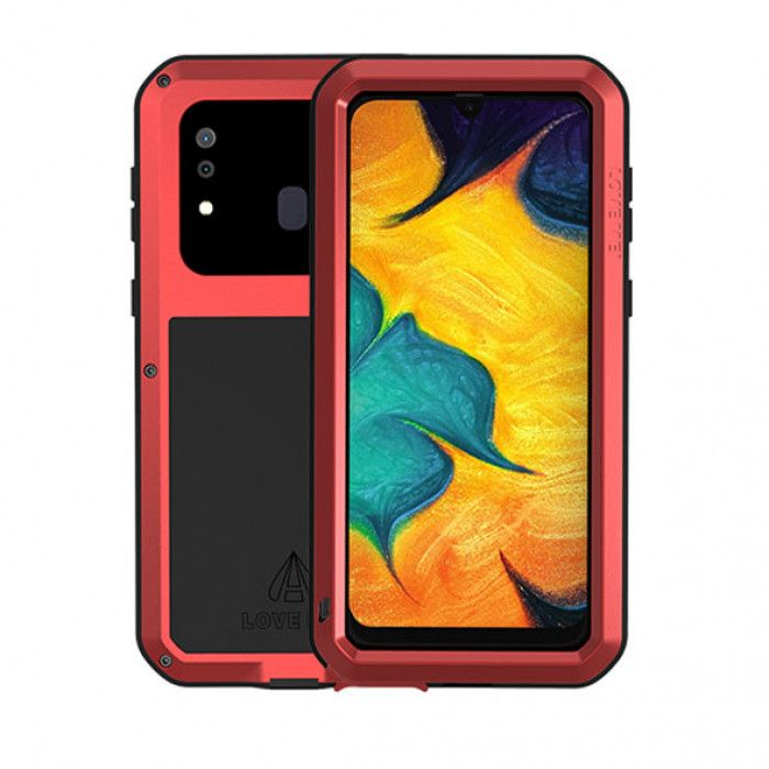 Love Mei Dust Proof Shock Proof Metal Powerful Protective Case For Samsung GALAXY A20/A30