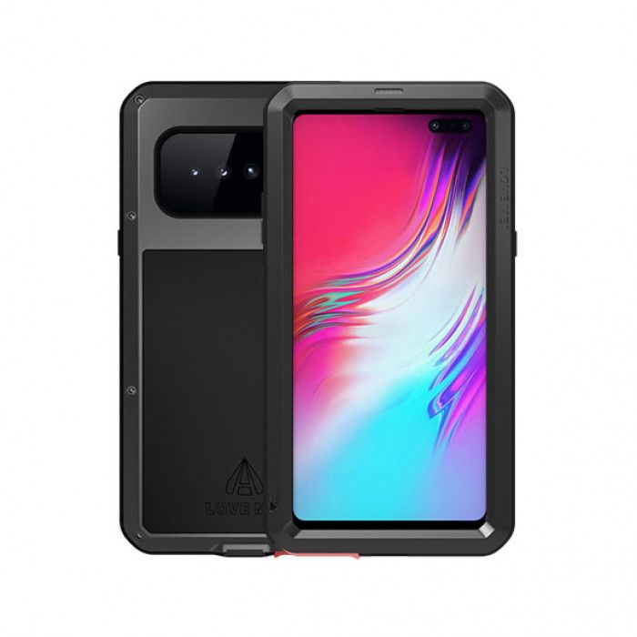 Love Mei Dust Proof Shock Proof Metal Powerful Protective Case For Samsung GALAXY S10 5G