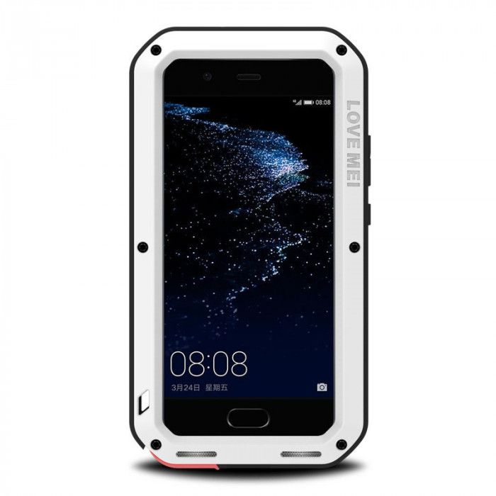 Love Mei Snow Proof & Shock Proof Aluminum Alloy Metal Powerful Protective Case For Huawei P10/P10 Plus