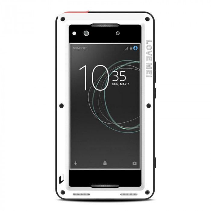 Love Mei Snow Proof & Shock Proof Aluminum Alloy Metal Powerful Protective Case For SONY Xperia XA1 Ultra