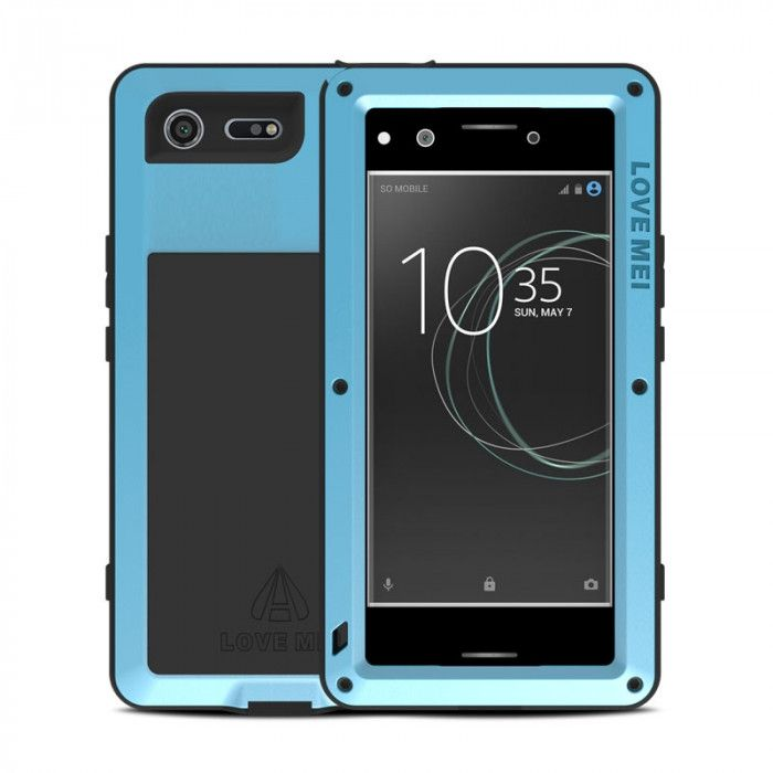 Love Mei Snow Proof & Shock Proof Aluminum Alloy Metal Powerful Protective Case For SONY Xperia XZ Premium