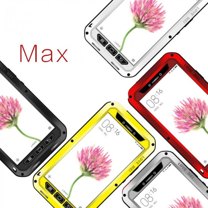 Love Mei Snow Proof & Shock Proof Aluminum Alloy Metal Powerful Protective Case For Xiaomi Mi Max