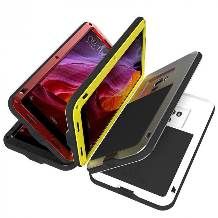 Love Mei Snow Proof & Shock Proof Aluminum Alloy Metal Powerful Protective Case For Xiaomi Mi Mix