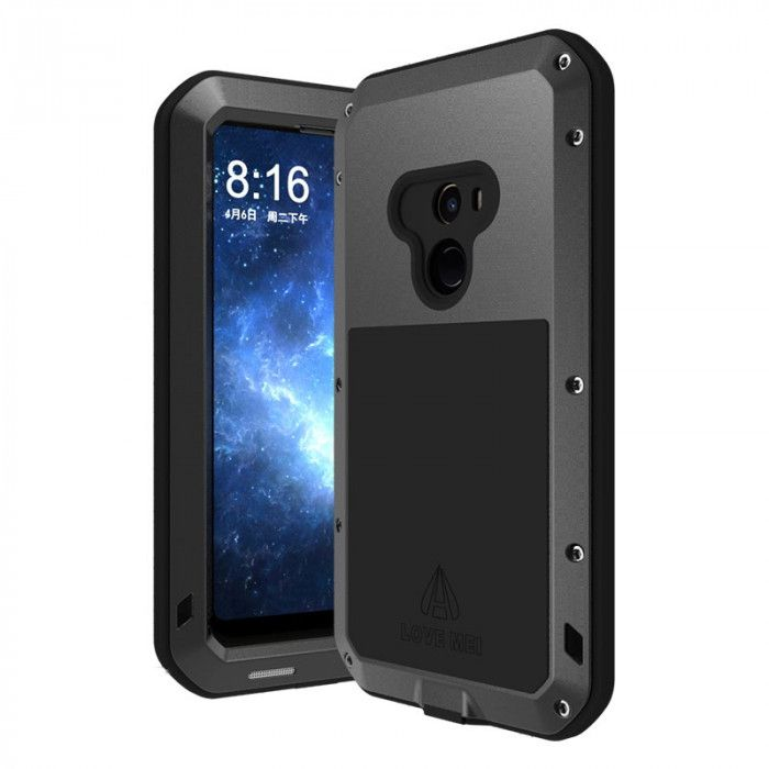 Love Mei Snow Proof & Shock Proof Aluminum Alloy Metal Powerful Protective Case For Xiaomi Mi Mix 2