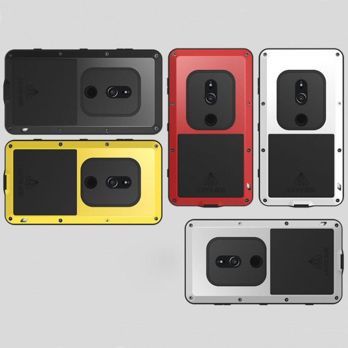 Love Mei Snow Proof & Shock Proof Metal Powerful Protective Case For SONY Xperia XZ2/XZ2 Compact