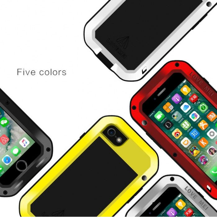 Love Mei Snow Proof & Shock Proof Powerful Protective Case For iPhone 7
