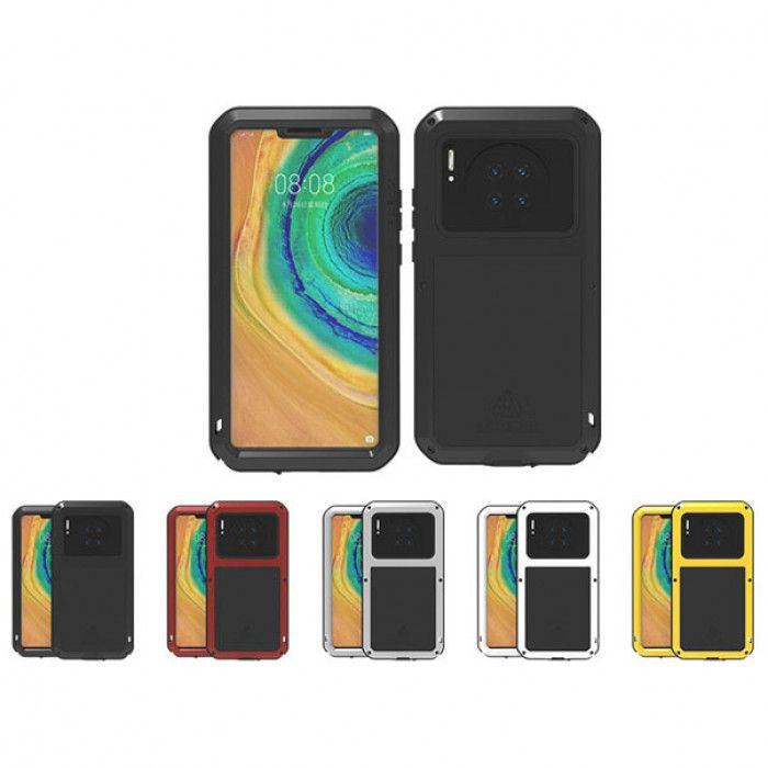 Lovemei Splashproof & ShockProof Aluminum Alloy Metal Powerful Protective Case For Huawei Mate 30 Pro
