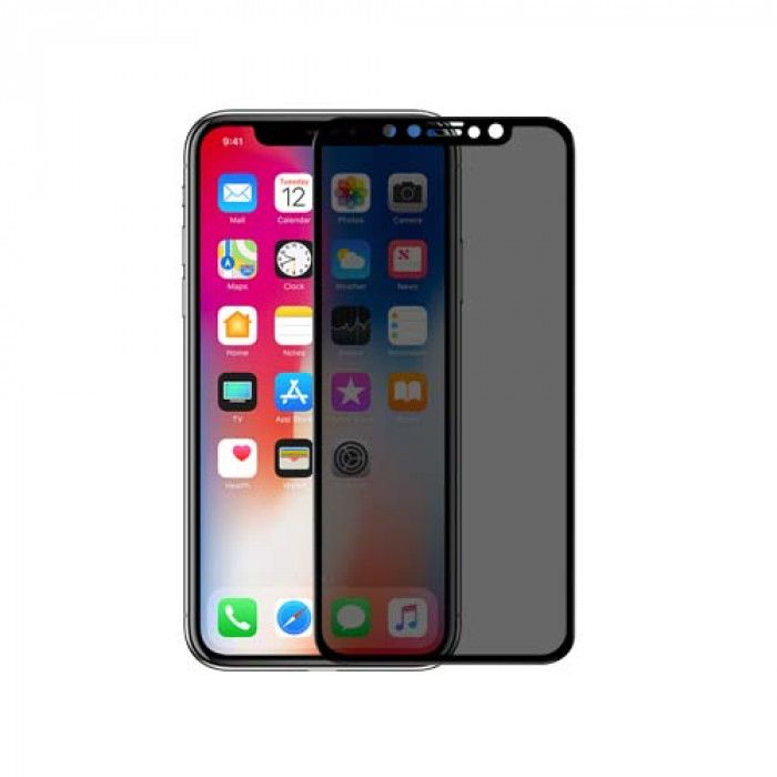 NILLKIN 3D AP+MAX Privacy Full Covering Tempered Glass Screen Protector Film For iPhone X/XS