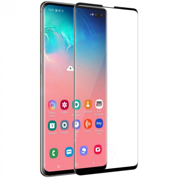 Nillkin 3D CP+MAX Full Covering Tempered Glass Screen Protector Film For Samsung Galaxy S10+
