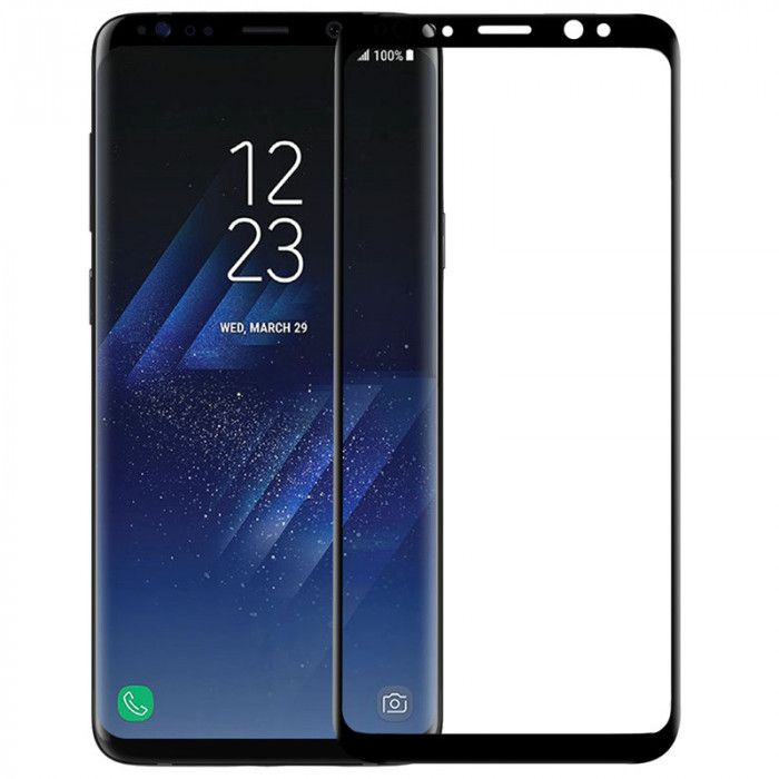 Nillkin 3D CP+MAX Full Covering Tempered Glass Screen Protector Film For Samsung Galaxy S9