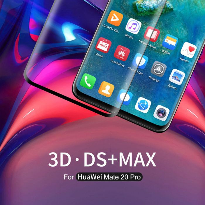 Nillkin 3D DS+MAX Tempered Glass Screen Protector Film For HUAWEI Mate 20 Pro