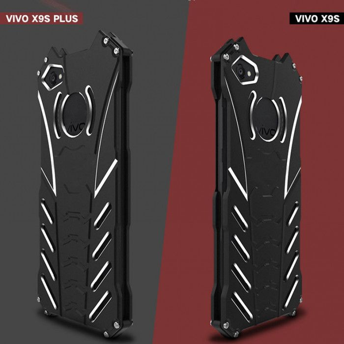 R-Just Shockproof Aluminum Alloy Metal Protective Case For ViVO X9s/X9s Plus