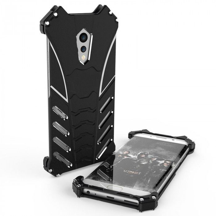 R-Just Shockproof Aluminum Alloy Metal Protective Case For ViVO Xplay 6