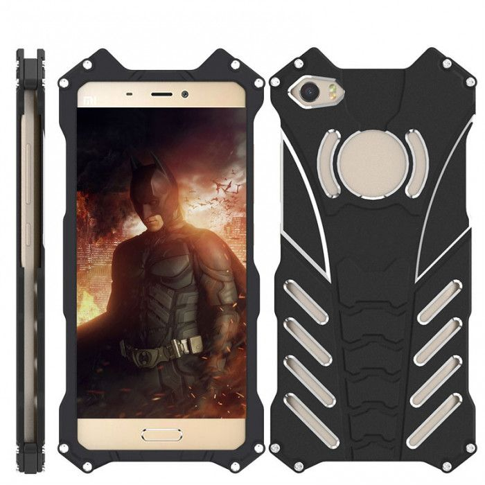 R-Just Shockproof Aluminum Alloy Metal Protective Case For Xiaomi Mi5