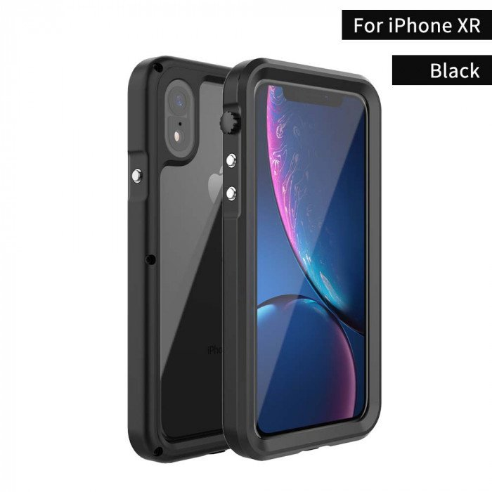 R-Just IP68 Waterproof Shockproof Dustproof Protective Case For iPhone XS Max/XR/XS/X