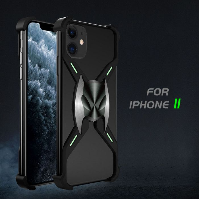 R-Just Magnetic Adsorption Shockproof Aluminum Alloy Metal Case For iPhone 11 Pro Max/11 Pro/iPhone 11
