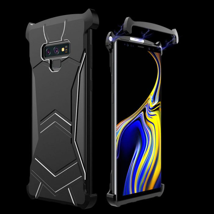 R-Just New Magnetic Panther Metal Cover Case For Samsung Note 9