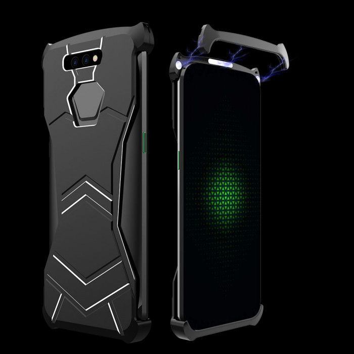 R-Just New Magnetic Panther Metal Cover Case For Xiaomi Black Shark