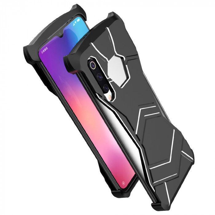R-Just New Magnetic Panther Metal Cover Case For Xiaomi Mi 9