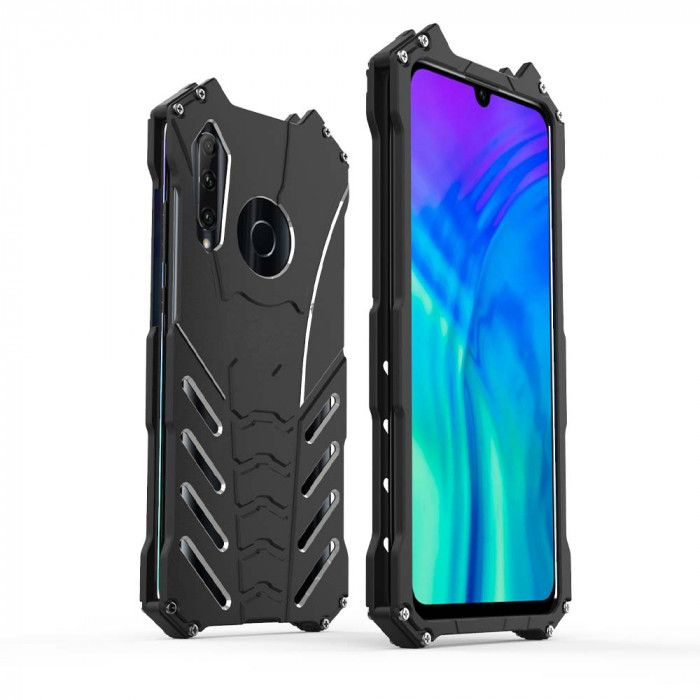 R-Just Shockproof Aluminum Alloy Metal Protective Case For Huawei Honor 20i