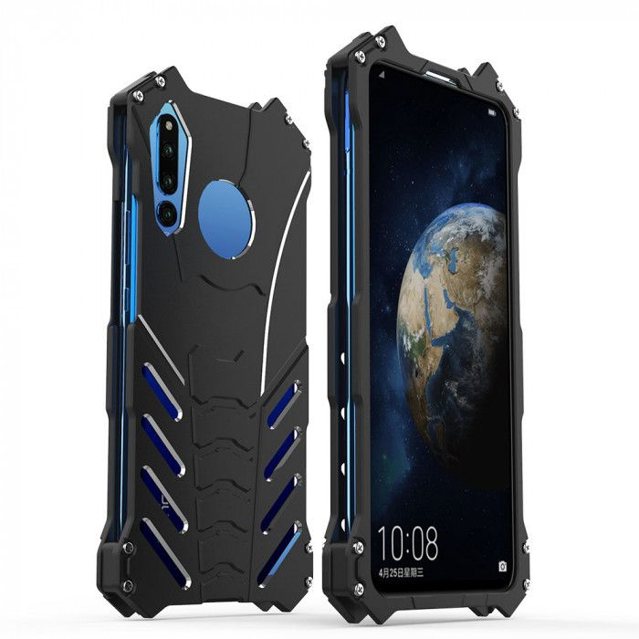 R-Just Shockproof Aluminum Alloy Metal Protective Case For Huawei Honor Magic 2