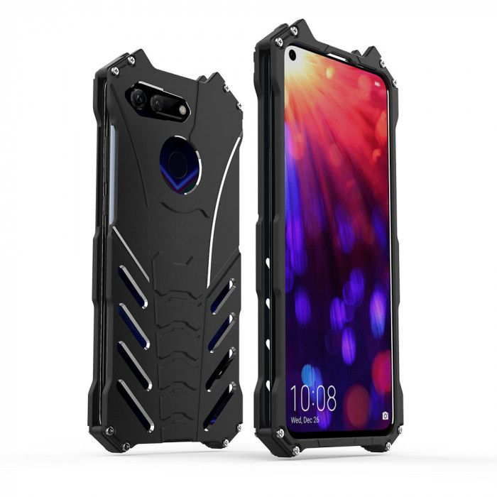 R-Just Shockproof Aluminum Alloy Metal Protective Case For Huawei Honor V20