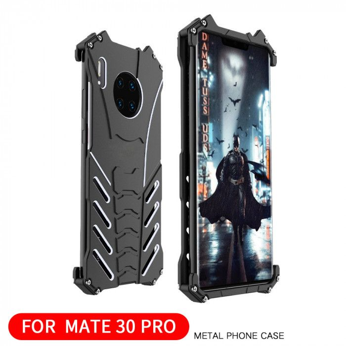 R-Just Shockproof Aluminum Alloy Metal Protective Case For HUAWEI Mate 30 Pro/Mate 30