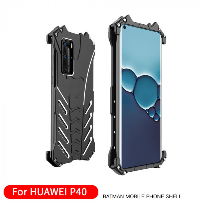 R-Just Shockproof Aluminum Alloy Metal Protective Case For HUAWEI P40 Pro/P40
