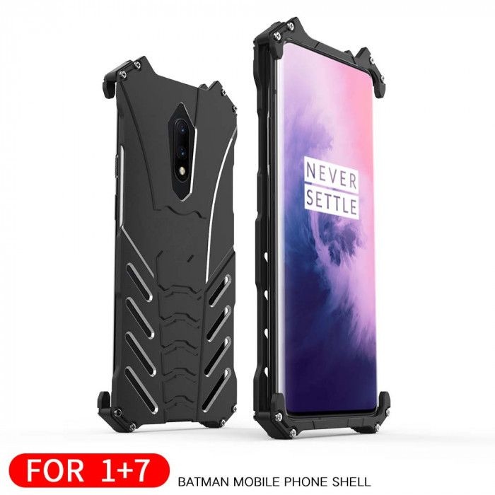 R-Just Shockproof Aluminum Alloy Metal Protective Case For OnePlus 7/OnePlus 7 Pro