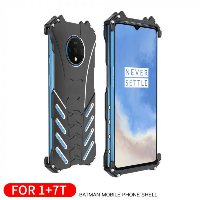 R-Just Shockproof Aluminum Alloy Metal Protective Case For OnePlus 7T/OnePlus 7T Pro