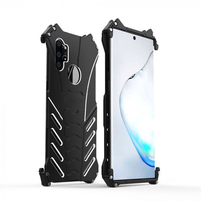 R-Just Shockproof Aluminum Alloy Metal Protective Case For Samsung Note 10 Plus/Note 10