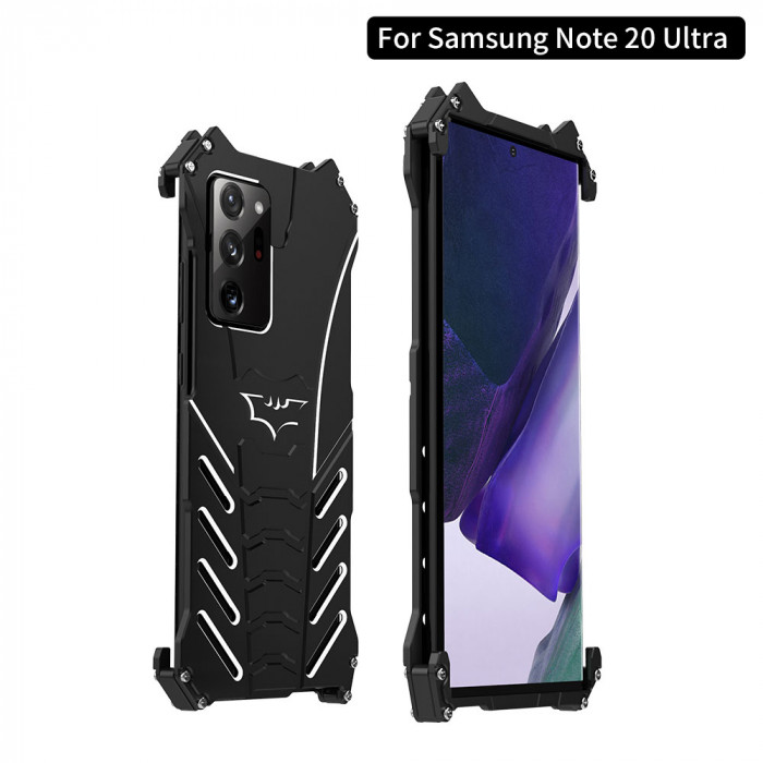 R-Just Shockproof Aluminum Alloy Metal Protective Case For Samsung Note 20/20 Ultra