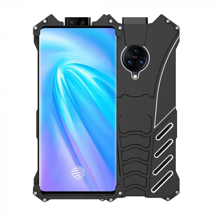 R-Just Shockproof Aluminum Alloy Metal Protective Case For ViVO NEX 3