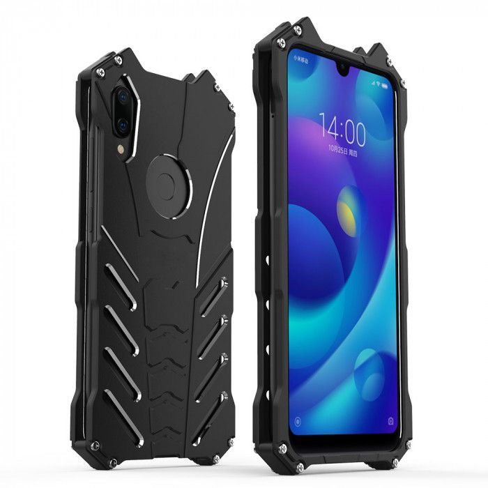 R-Just Shockproof Aluminum Alloy Metal Protective Case For Xiaomi Mi Play