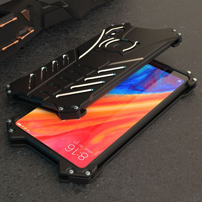 R-Just Shockproof Aluminum Alloy Metal Protective Case For Xiaomi MIX 2S