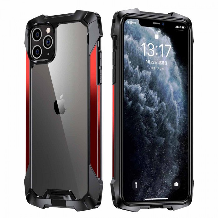 R-Just Slim Lightless Airbag Anti-Drop Shell For iPhone 11 Pro Max/iPhone 11 Pro/iPhone 11