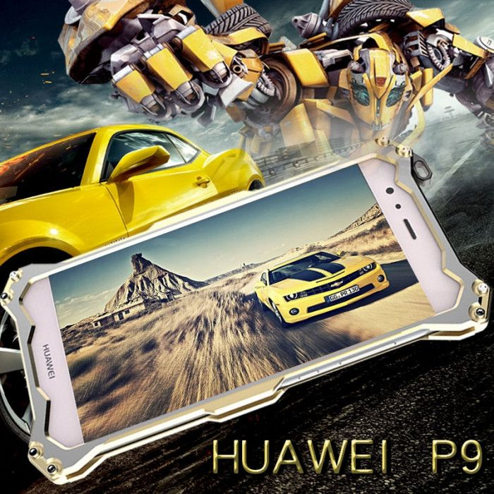 R-Just Ultra Thin Cool Aluminum Alloy Shock Proof Metal Shell With Hook Design For Huawei P9
