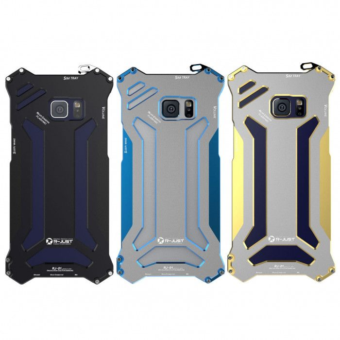 R-Just Ultra Thin Cool Aluminum Alloy Shock Proof Metal Shell With Hook Design For Samsung Note FE