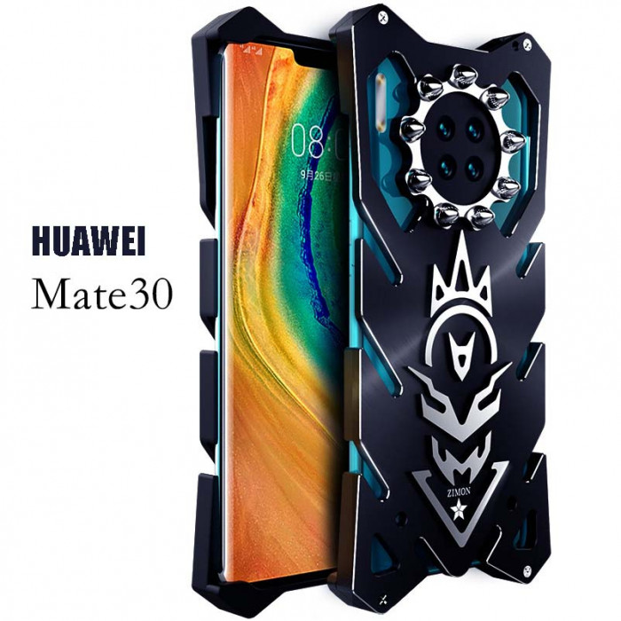SIMON New Cool Aluminum Alloy Metal Frame Bumper Cover Case For HUAWEI Mate 30 Pro/Mate 30