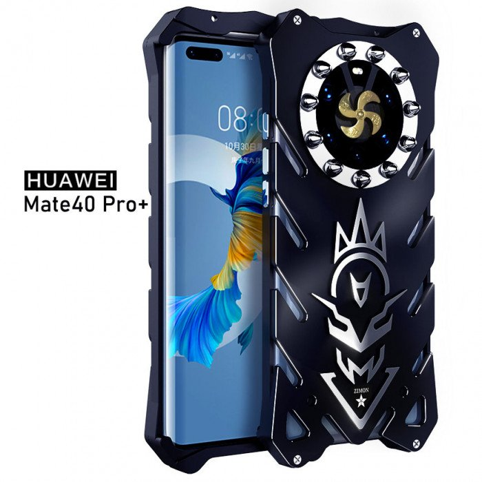 SIMON New Cool Aluminum Alloy Metal Frame Bumper Cover Case For HUAWEI Mate 40 Pro/Mate 40 Pro+