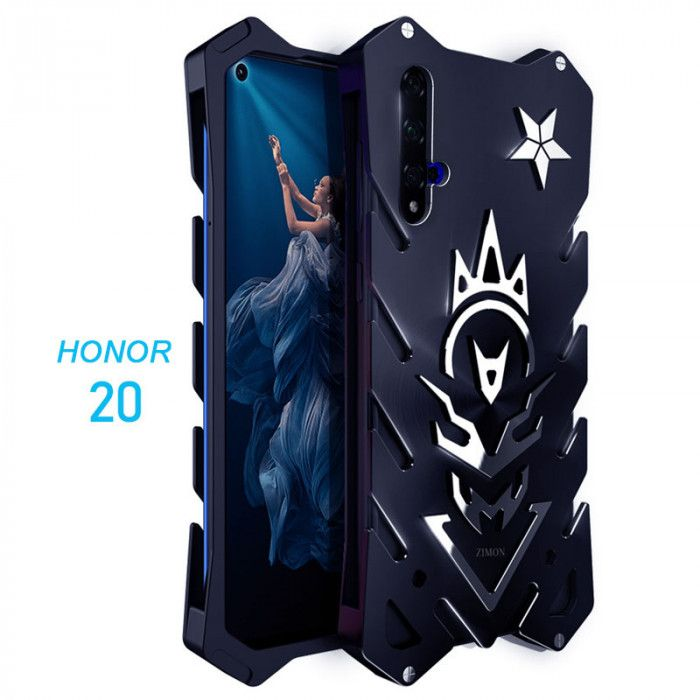 SIMON Aluminum Alloy Metal Frame Bumper Cover Case For Huawei Honor 20 Pro/Honor 20