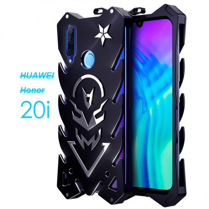 SIMON New Style Cool Aluminum Alloy Metal Frame Bumper Cover Case For Huawei Honor 20i/Maimang 8