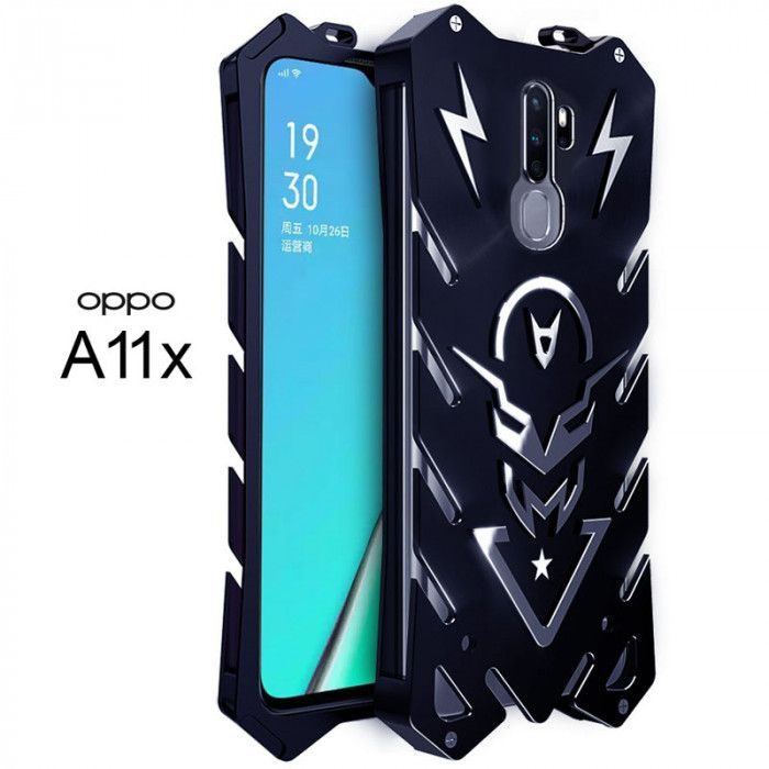 SIMON New Style Cool Aluminum Alloy Metal Frame Bumper Cover Case For OPPO A11x