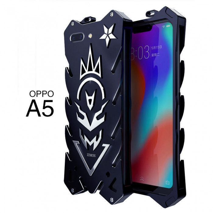 SIMON New Style Cool Aluminum Alloy Metal Frame Bumper Cover Case For OPPO A5