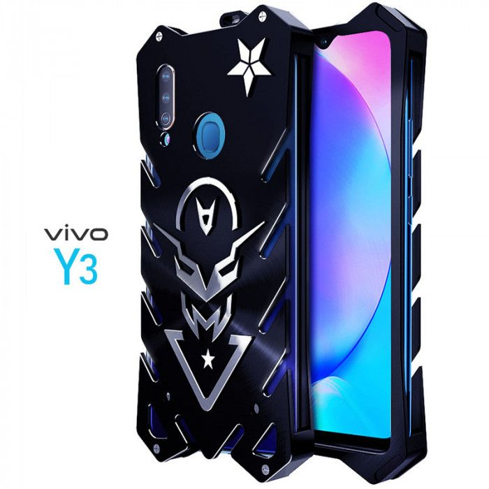 SIMON New Style Cool Aluminum Alloy Metal Frame Bumper Cover Case For VIVO Y3