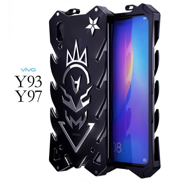 SIMON New Style Cool Aluminum Alloy Metal Frame Bumper Cover Case For ViVO Y93/Y97